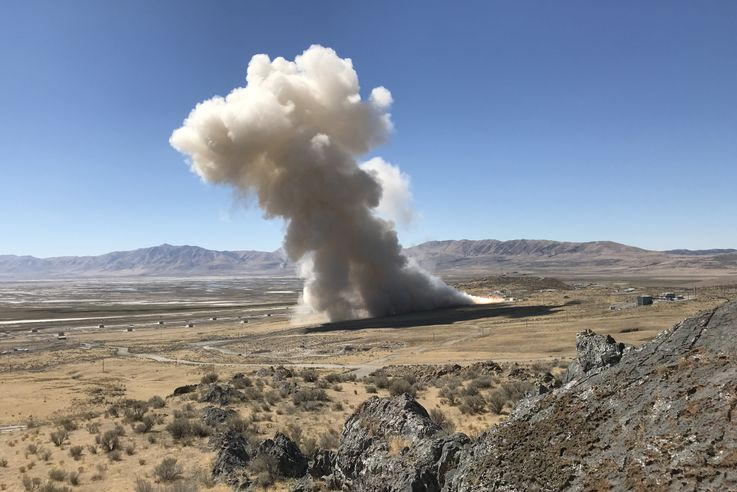 Northrop Grumman Successfully Completes First Qualification Test of New Rocket Motor for United Launch Alliance Atlas V