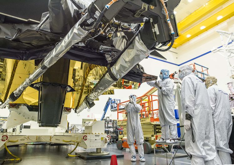 NASAs James Webb Space Telescope Speaks for the First Time at Northrop Grumman_1