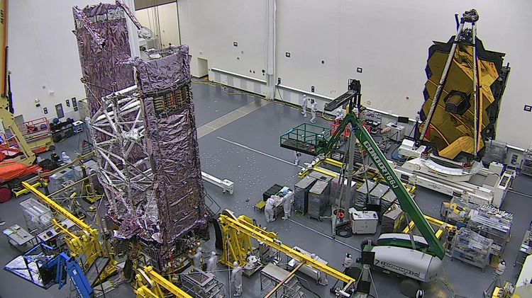 NASAs James Webb Space Telescope Speaks for the First Time at Northrop Grumman_2