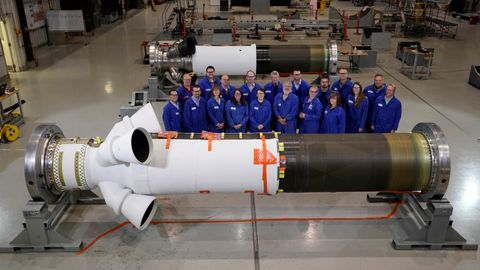 Northrop Grumman Completes Two Orion Spacecraft Launch Abort Motors for Upcoming Tests