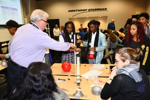Northrop Grumman BWI Campus Celebrates Manufacturing Day with STEM Students from Baltimore-area High Schools_1