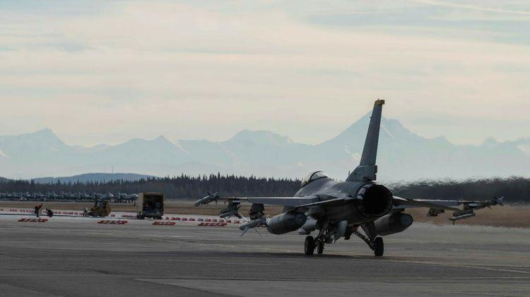 US Misawa Air Base Pilots in Japan Join Live RED FLAG Alaska Mission from Virtual Cockpits