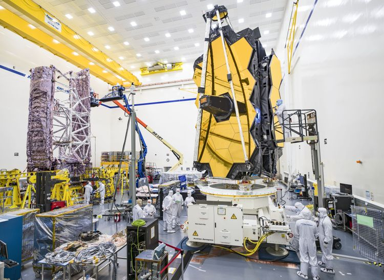 Northrop Grumman Completes Next Critical Launch Milestones of NASAs James Webb Space Telescope Spacecraft_1