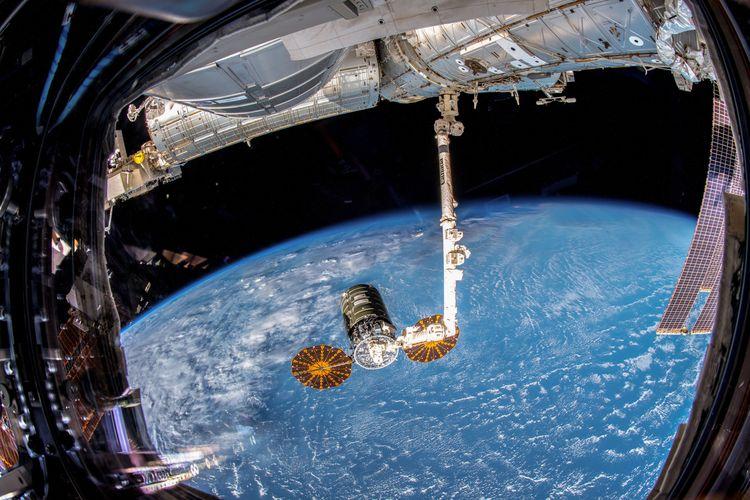 Northrop Grumman's Cygnus Spacecraft Departs International Space Station