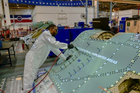 Northrop Grumman Delivers 500th Center Fuselage for the F-35 Lightning II