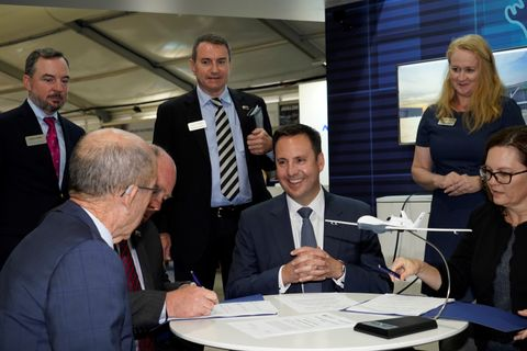 Minister for Defence Industry and Northrop Grumman Australia Sign Australian Industry Capability Deed