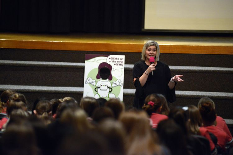 Northrop Grumman Sponsors 19th Annual STEM Conference for Girls_5126