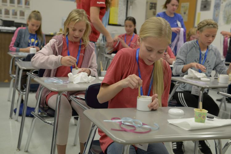 Northrop Grumman Sponsors 19th Annual STEM Conference for Girls_5247jpg