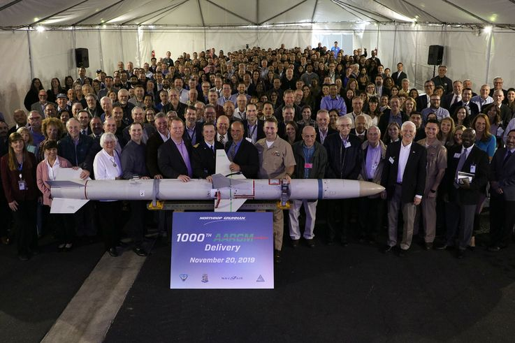Northrop Grumman Delivers 1000th Advanced Anti-Radiation Guided Missile to the US Navy
