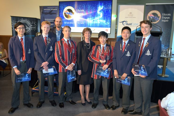 Northrop Grumman Celebrates Successful Pilot of Australian CyberTaipan Competition