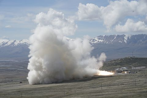 Northrop Grumman Successfully Completes Second Ground Test of New Rocket Motor for United Launch Alliance Atlas V
