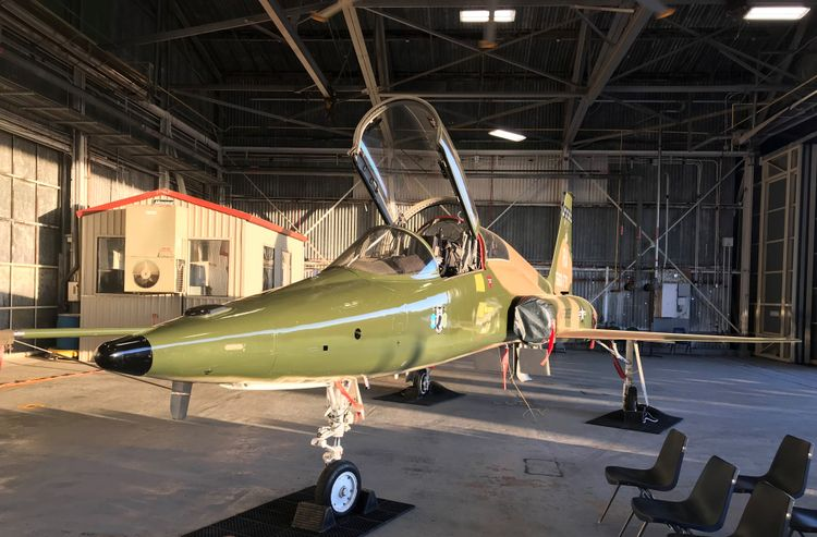 US Air Force Northrop Grumman Celebrate 60 Years with the T-38 Talon Aircraft