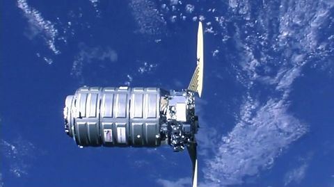 Northrop Grumman's Cygnus Spacecraft Successfully Completes Rendezvous and Berthing with International Space Station