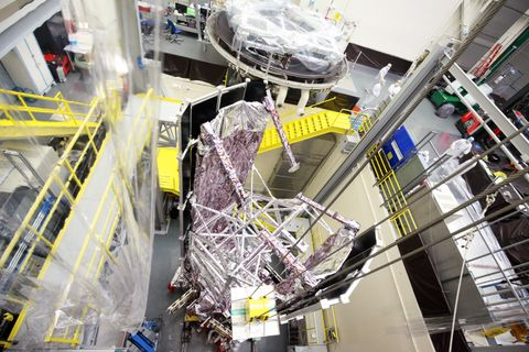 Northrop Grumman Finishes Environmental Test on NASA's Webb Telescope