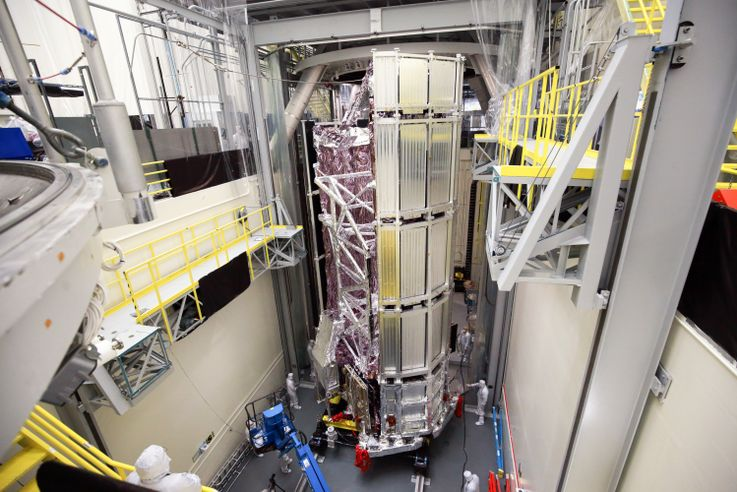 Northrop Grumman Finishes Environmental Test on NASAs Webb Telescope_2