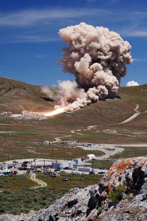 Northrop Grumman Successfully Completes First Stage Test for OmegA Rocket_1