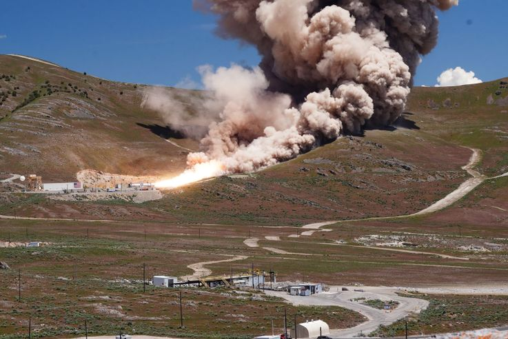 Northrop Grumman Successfully Completes First Stage Test for OmegA Rocket