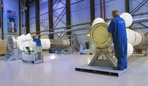 Northrop Grumman Ships Orion Spacecrafts Launch Abort Motor to Kennedy Space Center_4