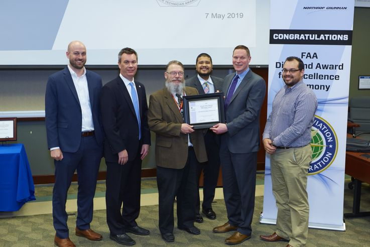 Northrop Grumman Receives Ninth Consecutive FAA Diamond Award