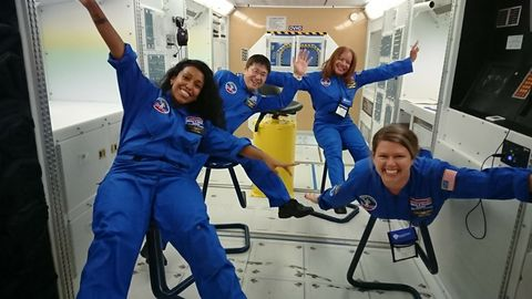Northrop Grumman Foundation Sponsors Students and Teachers from Six Countries to Attend Space Camp®