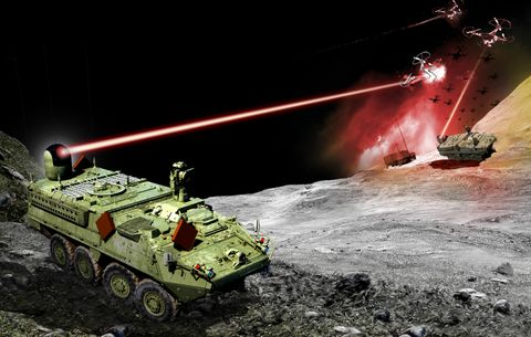 Northrop Grumman Selected for US Army Stryker Vehicle High Energy Laser Initiative