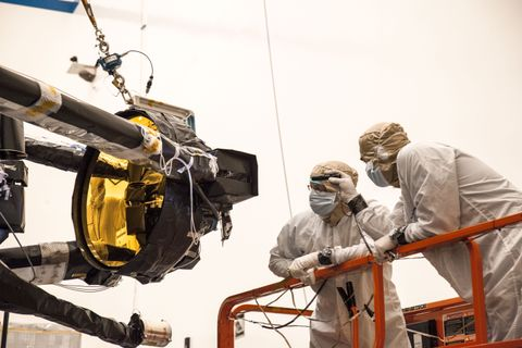 NASA's James Webb Space Telescope Secondary Mirror Deploys for the First Time Using the Spacecraft Flight Electronics