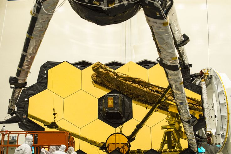 NASA's James Webb Space Telescope Secondary Mirror Deploys for the First Time Using the Spacecraft Flight Electronics_4
