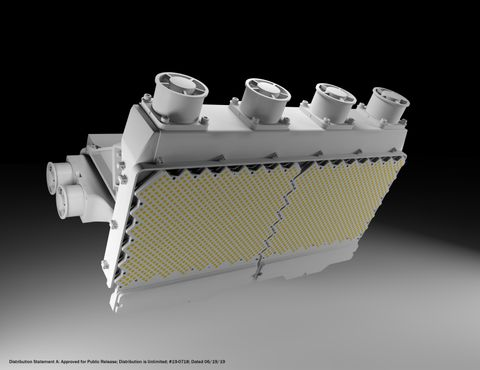 Northrop Grumman Introduces Next Generation Scalable Radar Antenna