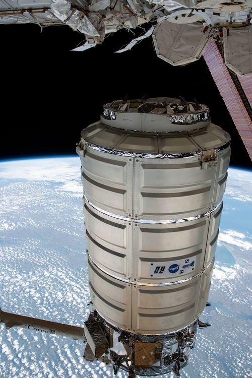 Northrop Grummans Cygnus Spacecraft Departs International Space Station Begins Secondary Mission