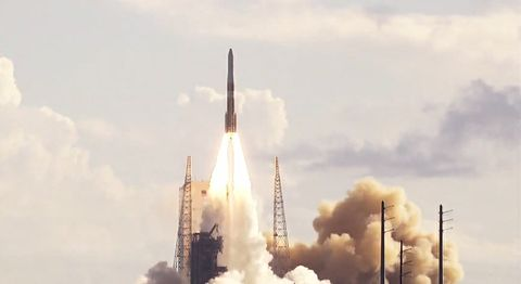 Northrop Grumman Supports ULA Delta IV Medium Launch of GPS III SV02