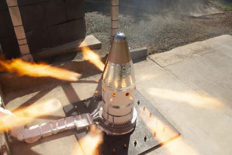Northrop Grumman Successfully Completes Qualification Motor Test for NASAs Orion Launch Abort System Attitude Control Motor_1