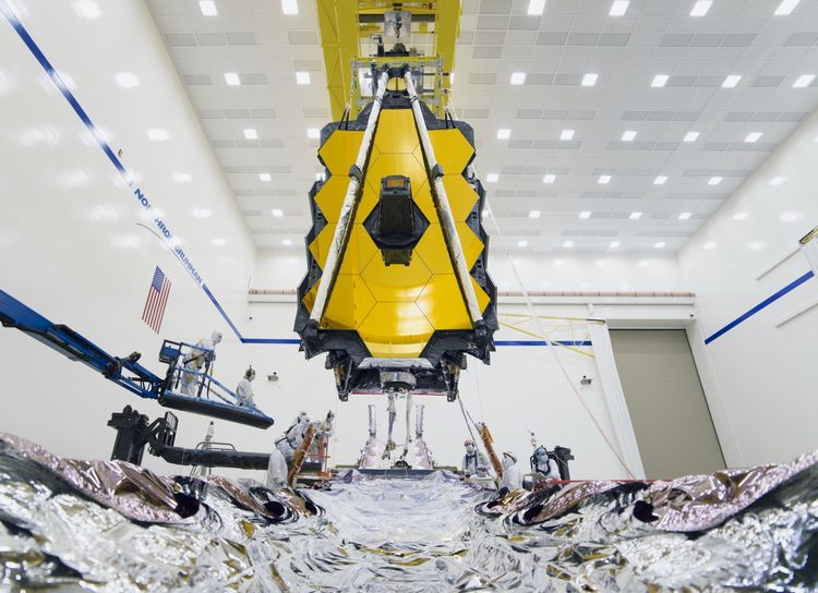 Northrop Grumman Fully Assembles NASAs James Webb Space Telescope_2