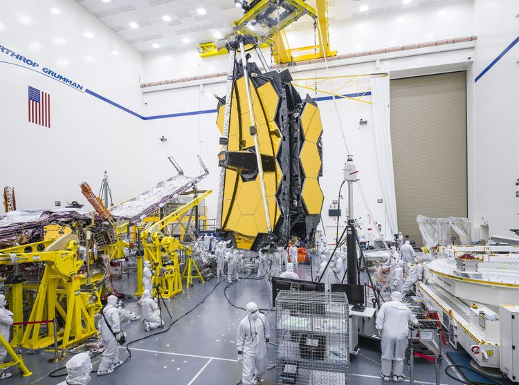 Northrop Grumman Fully Assembles NASAs James Webb Space Telescope_3
