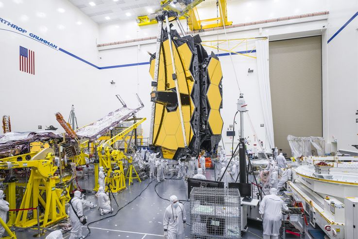 Northrop Grumman Fully Assembles NASAs James Webb Space Telescope_3_201908281346