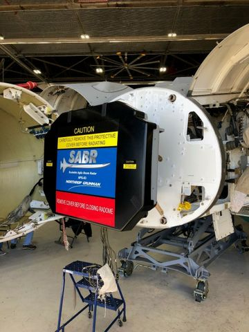 Northrop Grumman AN APG-83 SABR Radar Achieves initial installation milestone for Air National Guard F-16s