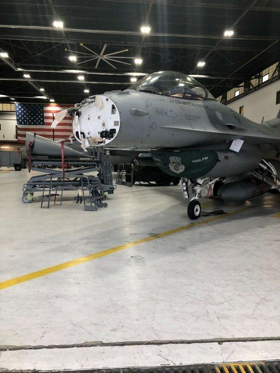 Northrop Grumman AN APG-83 SABR Radar Achieves initial installation milestone for Air National Guard F-16s_2