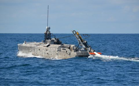 Northrop Grumman Successfully Completes Initial In-Water Testing of the AQS-24 Mine Hunting Sonar Using a Next Generation Deploy and Retrieval Payload