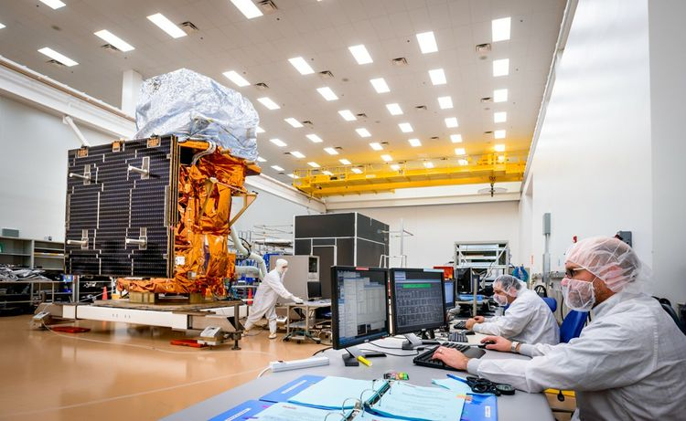 Northrop Grumman's current Satellite Manufacturing Facility in Gilbert, Arizona