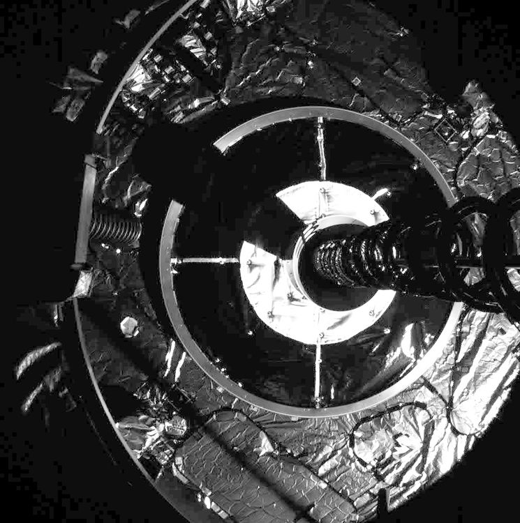 MEV-1 captures IS-901 to initiate the final docking of the two spacecraft.