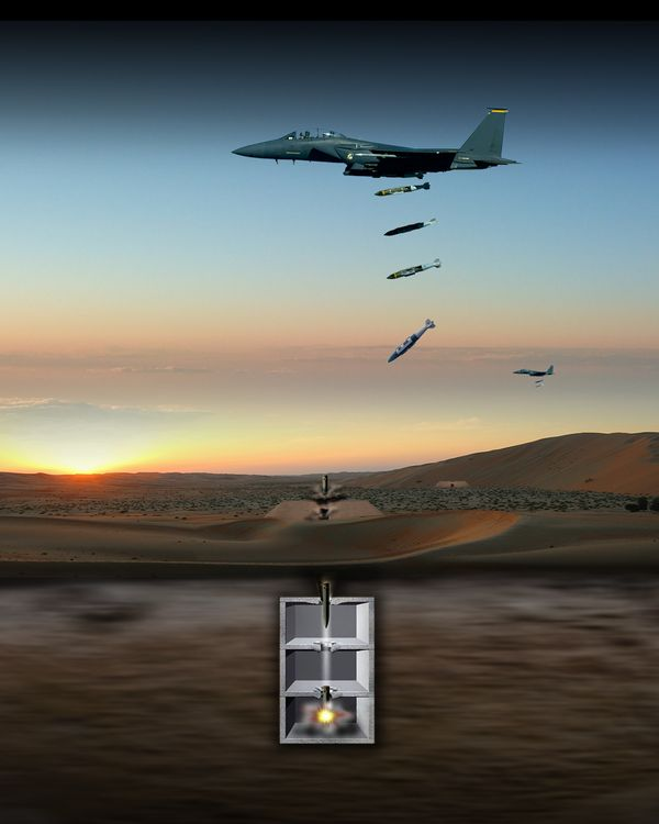 Northrop Grumman Awarded 110 Million for US Air Force Hard Target Void Sensing Fuze