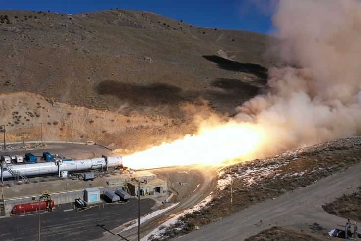 Northrop Grumman Successfully Completes Second Stage Test for OmegA™ Rocket