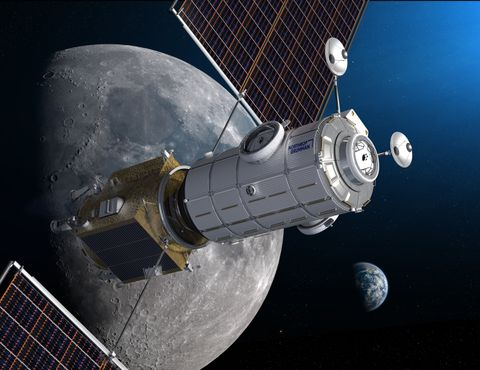 Northrop Grumman Completes Preliminary Design Review for NASAs Gateway Crew Module