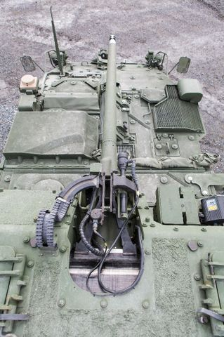 Northrop Grumman to Supply XM813 Bushmaster Chain Guns for US Army Strykers