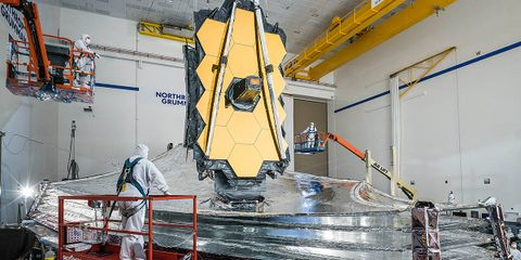 Northrop Grumman and NASA Complete Final Sunshield Deployment Test on the James Webb Space Telescope