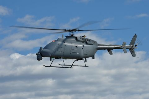 Northrop Grumman Supports Government Flight Testing of the MQ-8C Fire Scout Radar