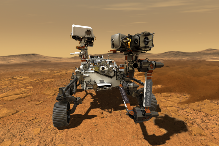 Northrop Grumman Provides Navigation System for NASA's Perseverance Mars Rover Mission