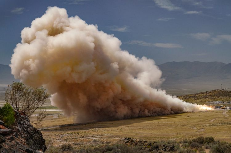 Northrop Grumman Successfully Completes First Qualification Test of New Rocket Motor for United Launch Alliance _1