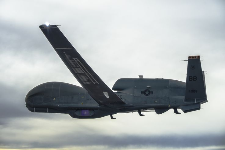 Northrop Grumman Delivers New Capabilities to Deployed Global Hawk Autonomous Aircraft