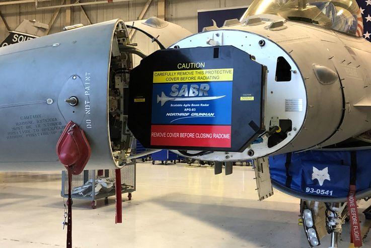 Northrop Grumman's Radar Declared Operational for Air National Guard F-16s