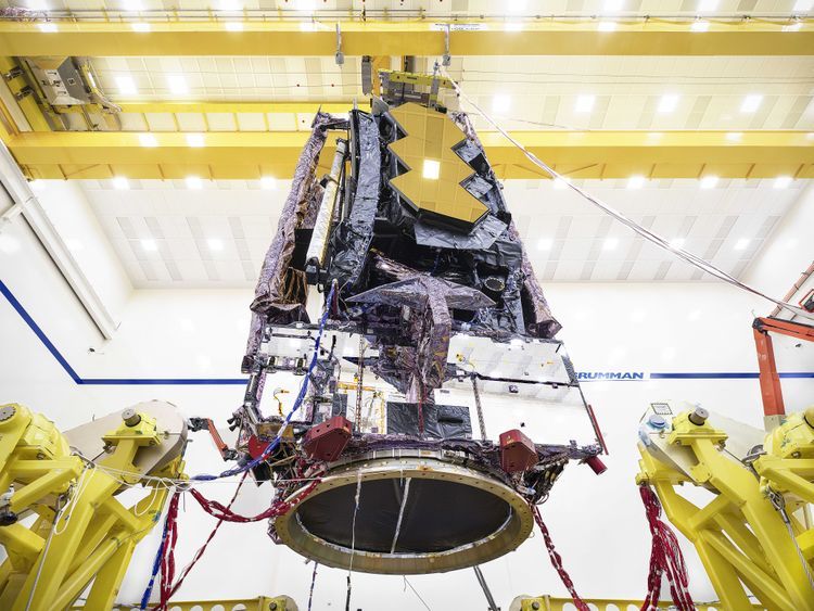 Northrop Grumman and NASA Complete Environmental Testing on the James Webb Space Telescope
